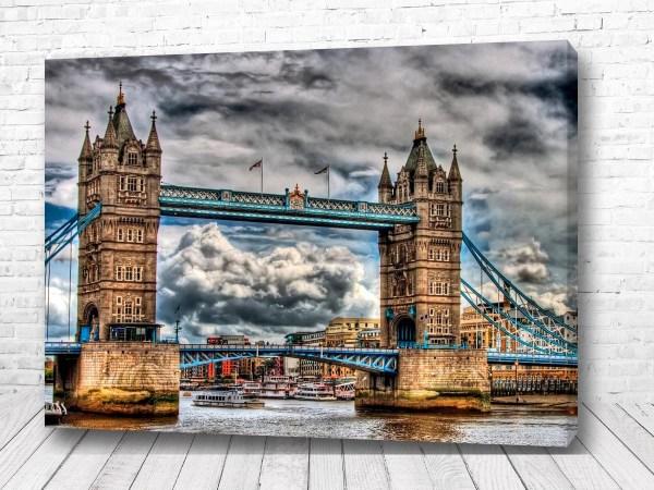 Постер Тауэрский мост в Англии