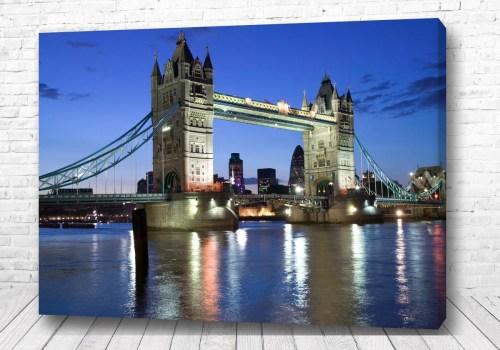 Постер Вечерний мост