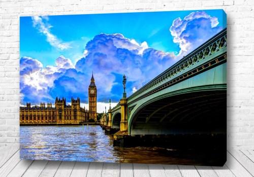 Постер Англия с воды