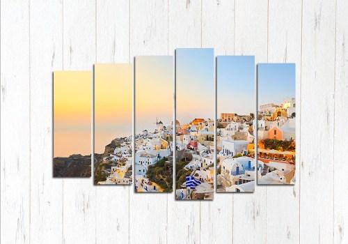 Модульная картина Греция с высоты