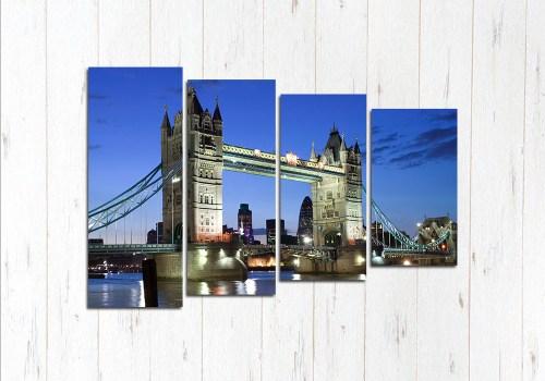 Модульная картина Английский мост