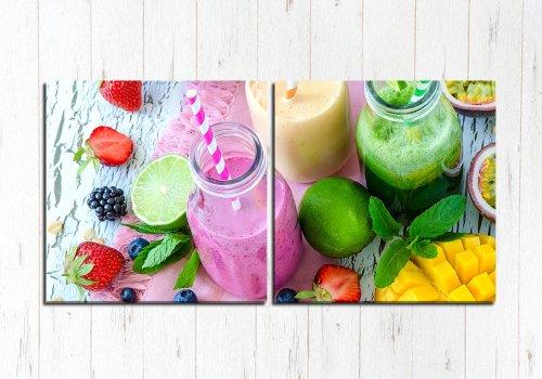 Модульная картина Вкусный сок