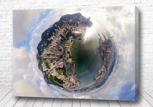 Постер Гонконг 360 градусов