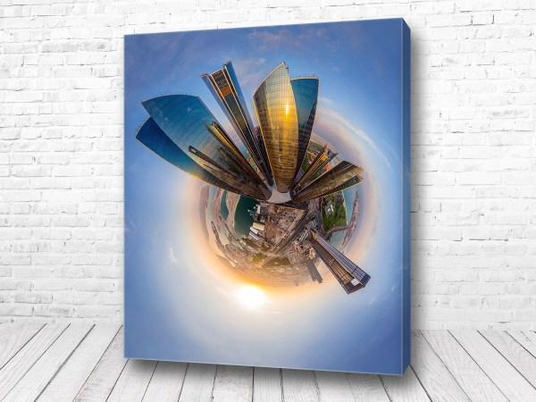 Постер Дубай 360 градусов