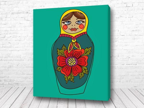 Постер Матрешка арт