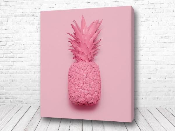 Постер Розовый ананас