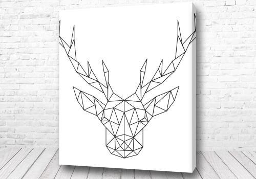 Постер Полигамный олень