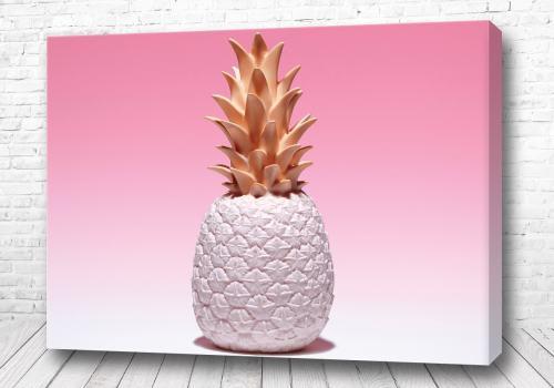 Постер Белый ананас