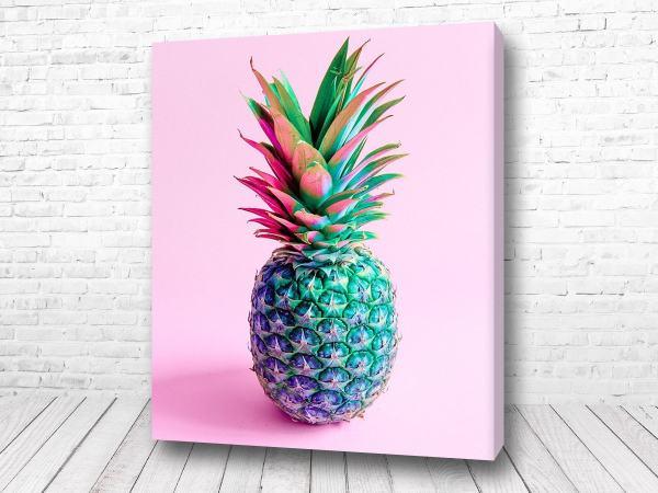 Постер Яркий ананас