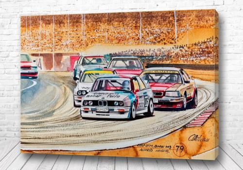 Постер Гонки BMW