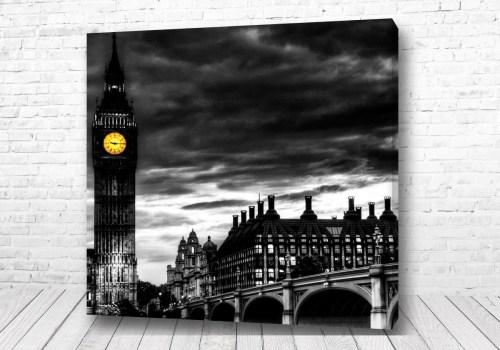 Постер Лондон ночью
