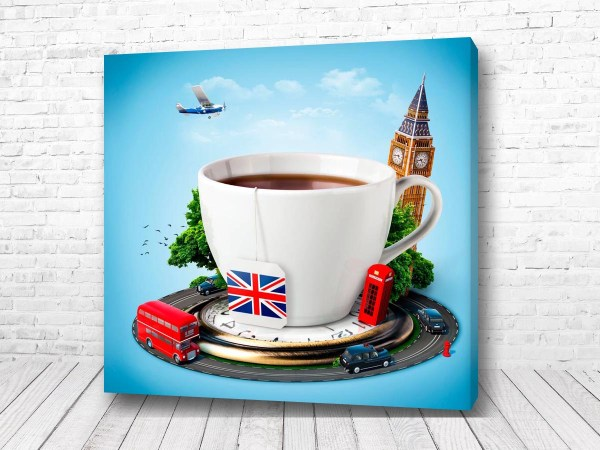 Постер Английский чай