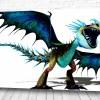 Постер зубастый дракон