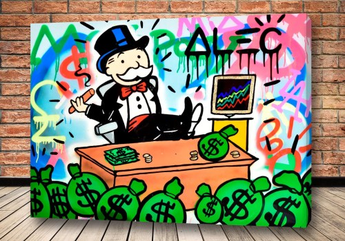 Картина Богатый миллионер - Alec Monopoly