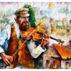 Картина Скрипач
