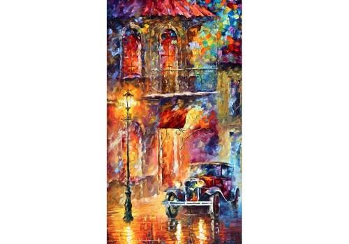 Картина Ретро авто на улице