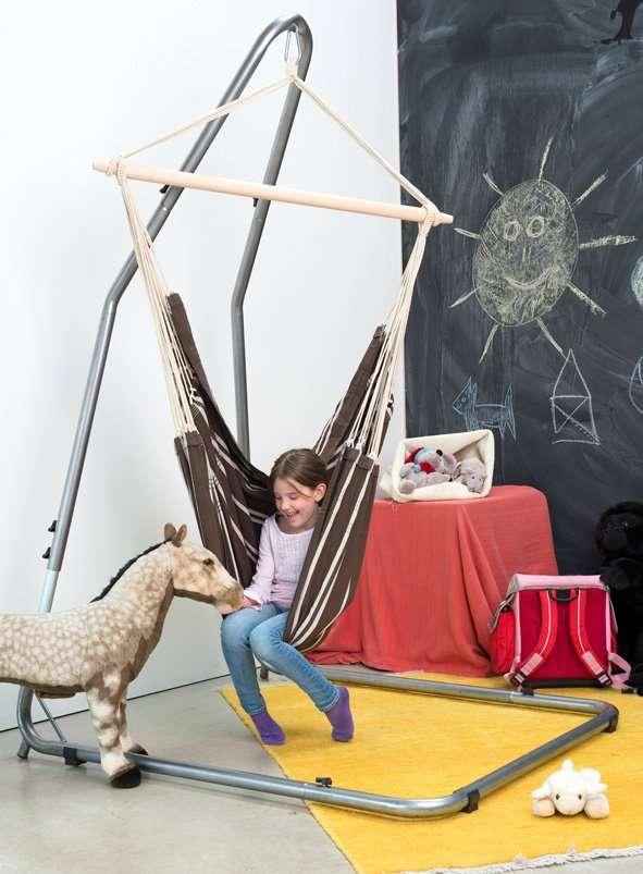 Amazonas Luna Rockstone hangstoel hangwieg standaard