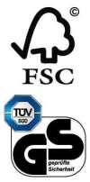 Logo FSC & TUV