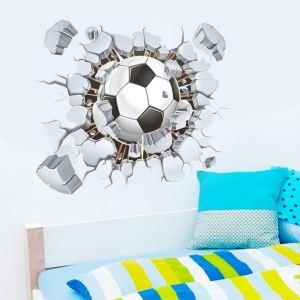 muursticker voetbal bal