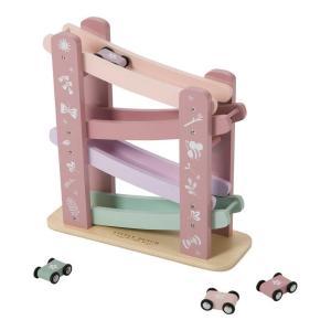 autobaan hout roze