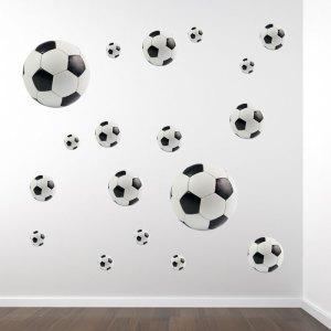 muursticker voetballen