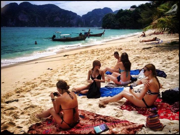 Nudist phi phi beach