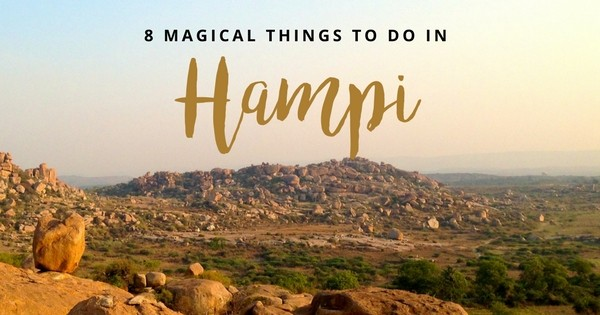 Here are eight things to do in Hampi, Karnataka, India. Boulders devour the barren land and every extra inch is filled with temples and palm trees.