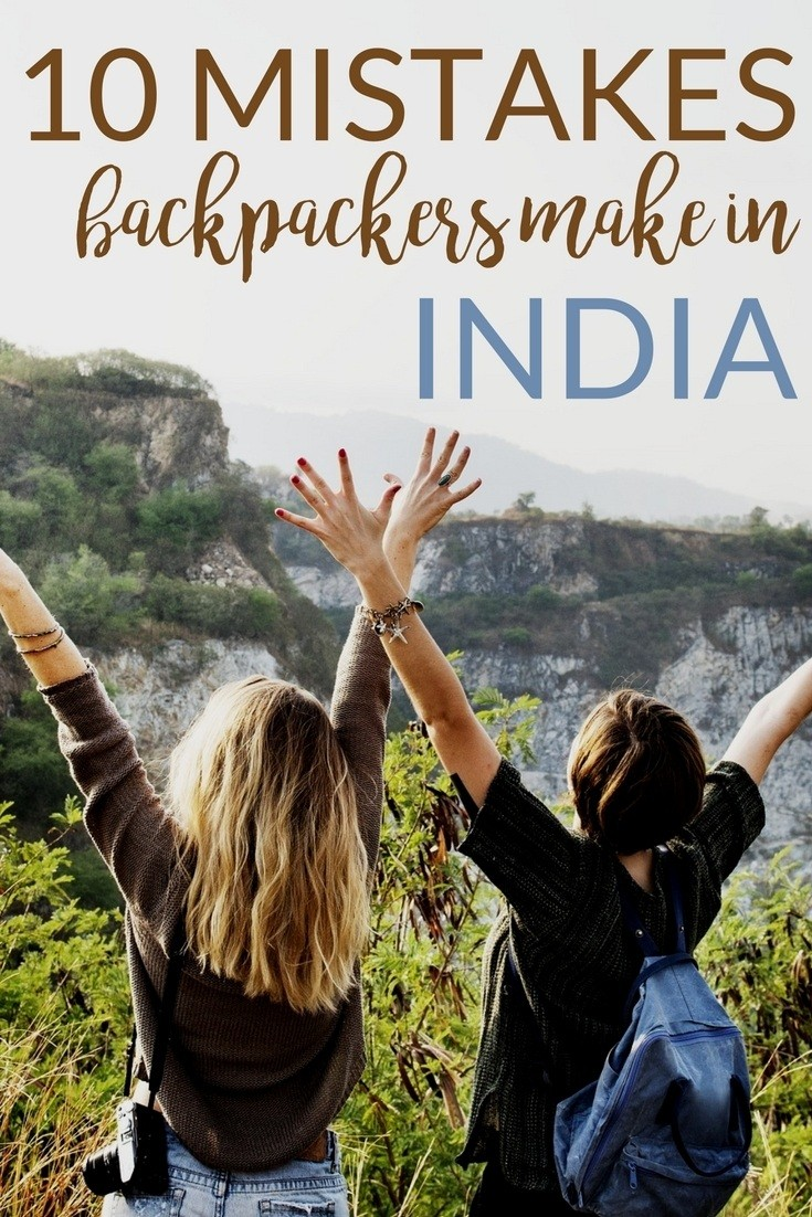 travel mistakes to avoid in India