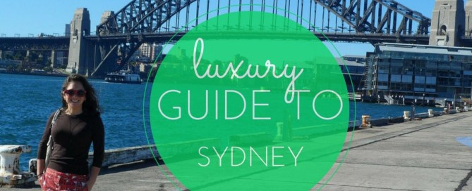 luxury guide to Sydney