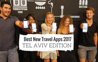 Best New Travel Apps 2017 - Tel Aviv Edition
