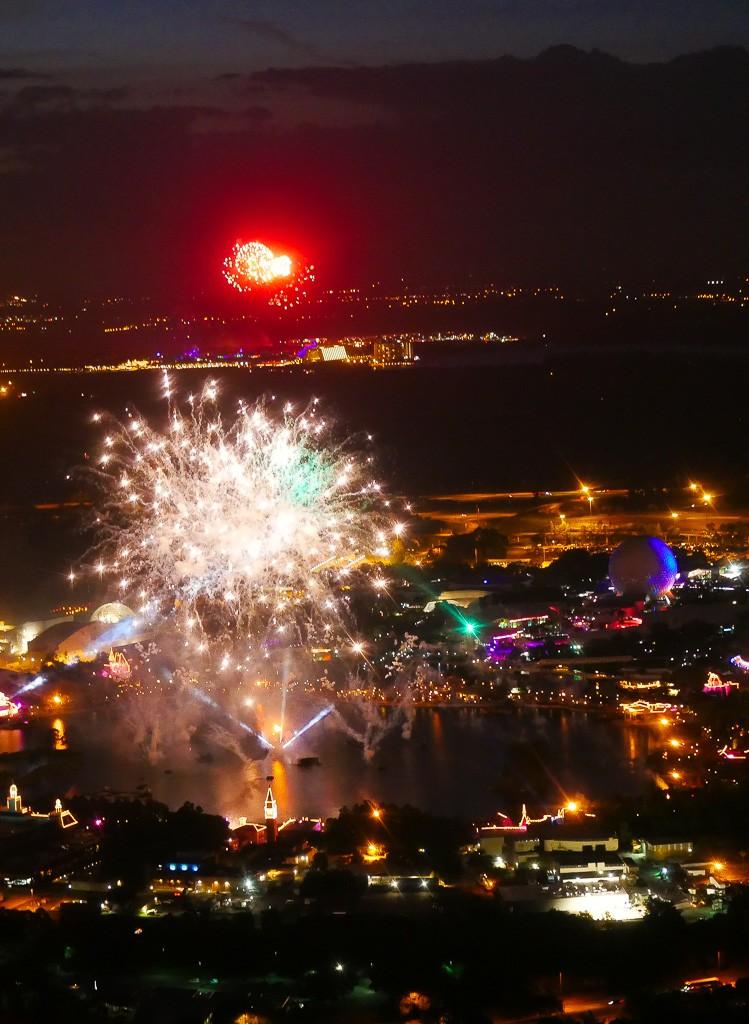 fireworks helicopter disney