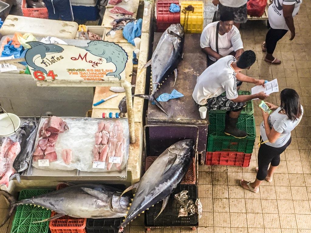 fish market casco viejo