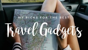 Wondering what the best travel gadgets out there are? Here are all the ones I absolutely swear by and have for quite a while!