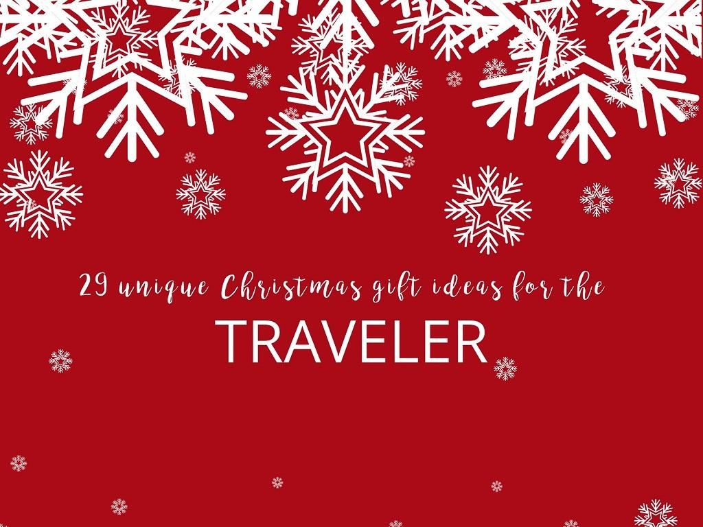 Christmas gift ideas travelers