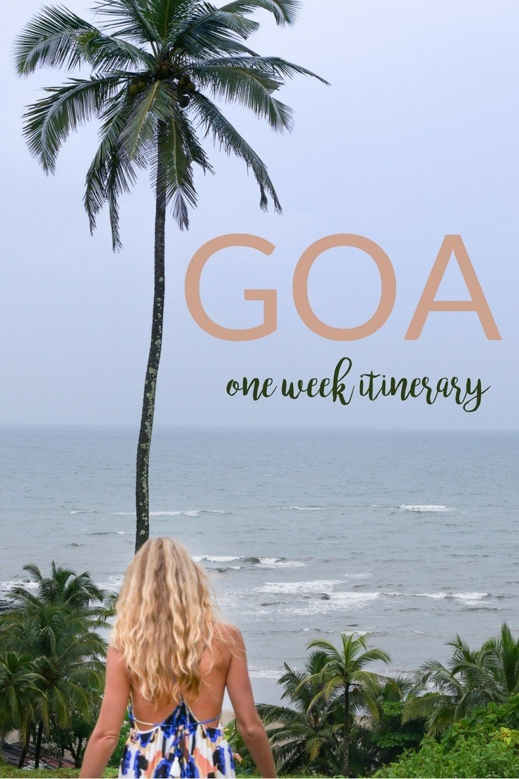 goa one week itinerary