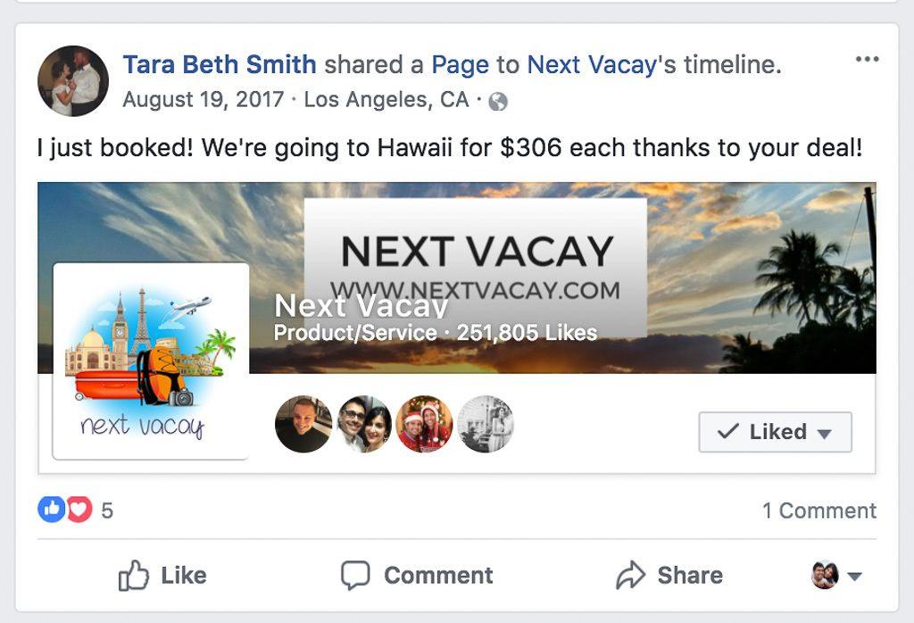 Cheap Flights to Hawaii With Next Vacay
