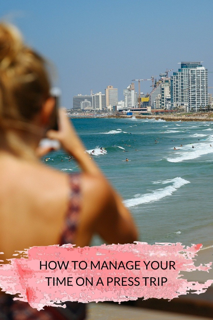 How to Manage Time During a Press Trip as a Travel Blogger