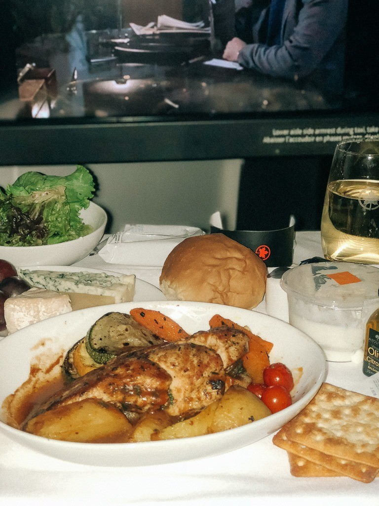 Air Canada Business Class Review: Mumbai to Toronto