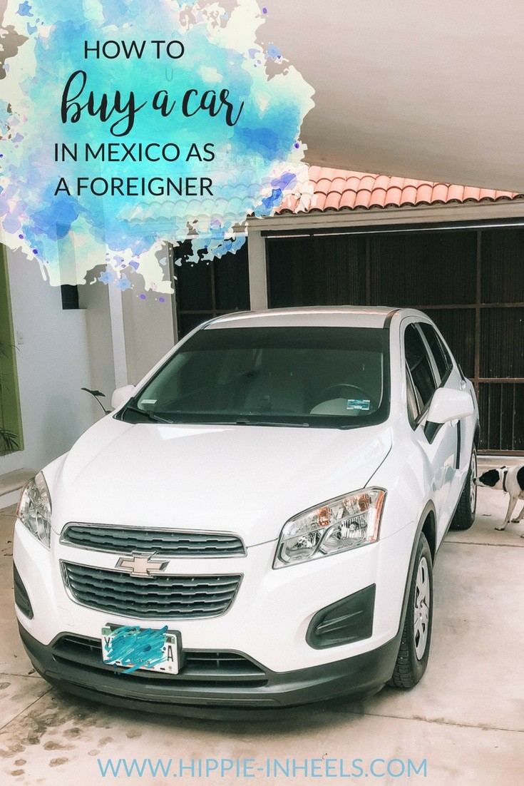 buying a used car in Mexico as a foreigner