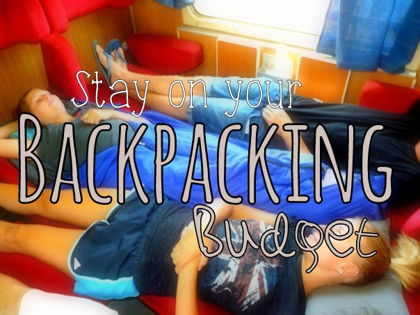 stay on your backpacking budget