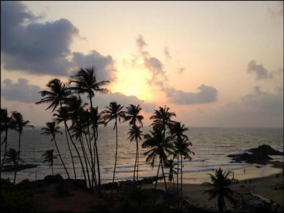 anjuna beach goa
