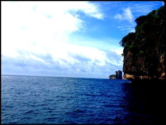 maya bay the beach