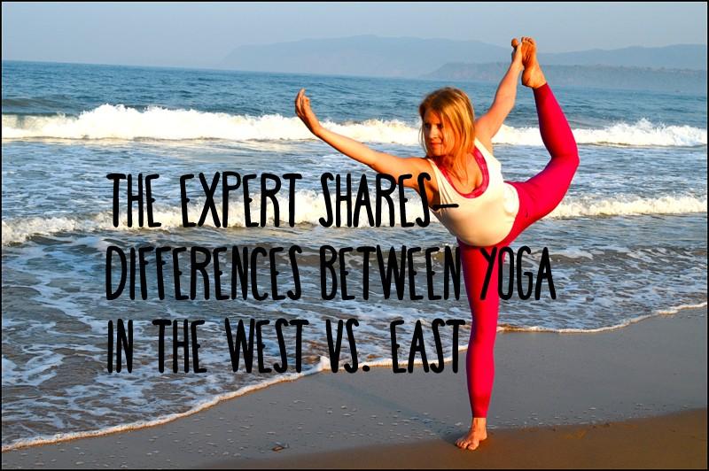 yoga east vs west india