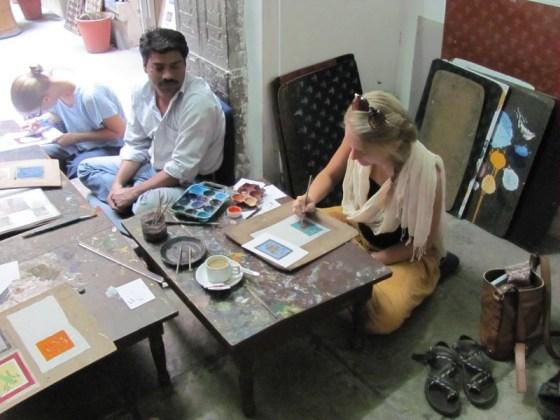 art class, udaipur, india travel bucket list