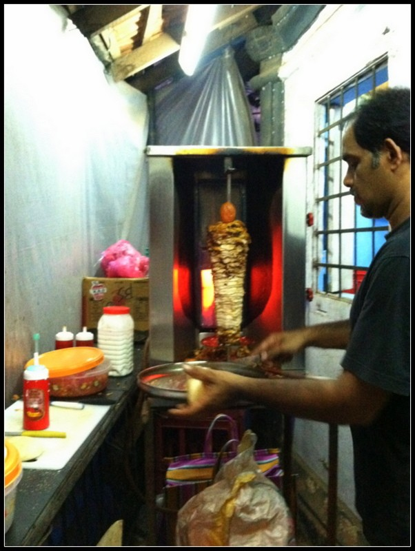 shawarma india