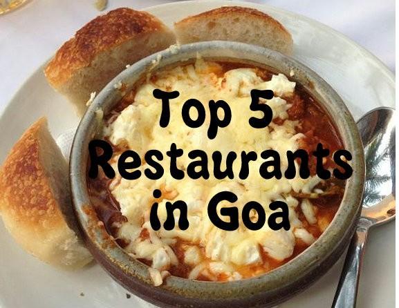 top 5 restaurants in Goa