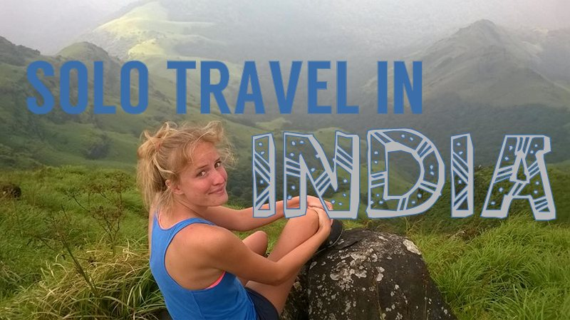 backpacking india alone