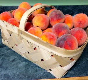 Half Bushel of Peaches
