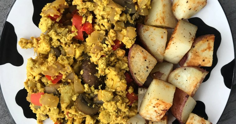 My Favorite Tofu Scramble