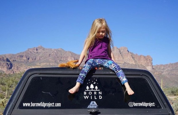 Born Wild Project Hadlie Morgan Brechler Arizona